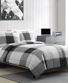 Brent 3 Piece Full/Queen Comforter Set