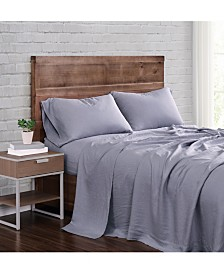 Brooklyn Loom Flax Linen California King Sheet Set