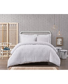 French Country 2 Piece Twin XL Cotton Comforter Set