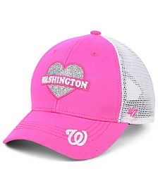 '47 Brand Girls' Washington Nationals Sweetheart Meshback MVP Cap
