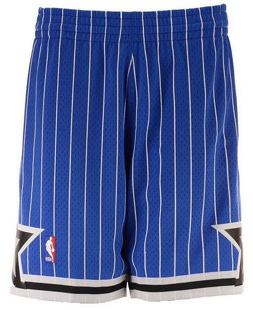 Mitchell & Ness Big Boys Orlando Magic Swingman Shorts