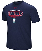 ee9c93d79 Under Armour Men s Minnesota Twins Coop Breakout T-Shirt