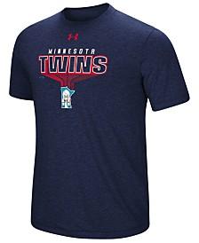 Under Armour Men's Minnesota Twins Coop Breakout T-Shirt
