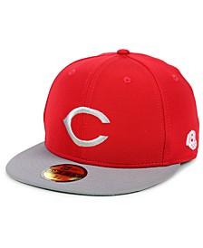 Cincinnati Reds Cooperstown Flip 59FIFTY Fitted Cap