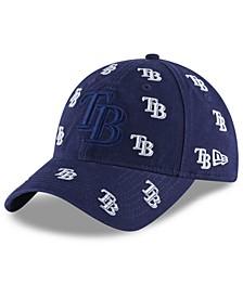 Women's Tampa Bay Rays Logo Scatter Adjustable 9TWENTY Cap