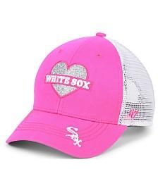 '47 Brand Girls' Chicago White Sox Sweetheart Meshback MVP Cap