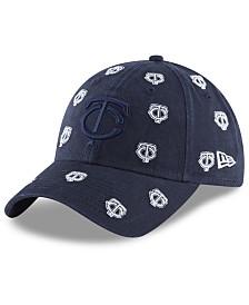 New Era Women's Minnesota Twins Logo Scatter Adjustable 9TWENTY Cap