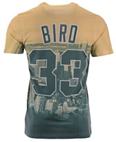 764ff17ff Mitchell   Ness Men s Larry Bird Boston Celtics City Pride Name And Number  T-Shirt