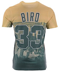 Mitchell & Ness Men's Larry Bird Boston Celtics City Pride Name And Number T-Shirt