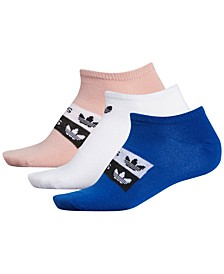 3-Pk. Originals Stacked Forum No-Show Women's Socks