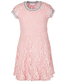 Bonnie Jean Little Girls Lace Athletic Dress