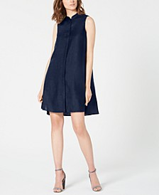 Trapeze Sleeveless High-Low Dress
