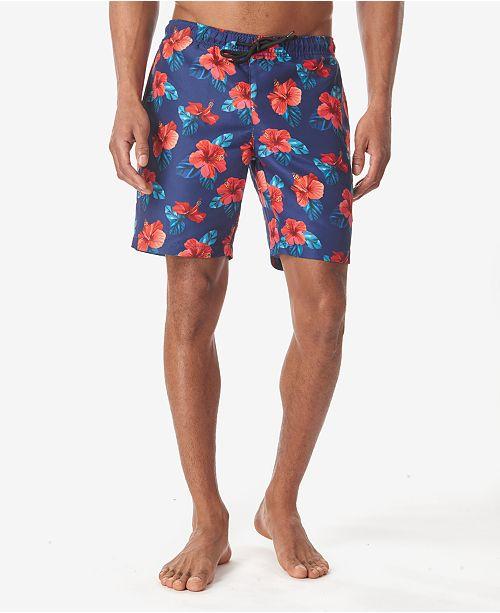 Tallia Men's Tropical Floral Board Shorts