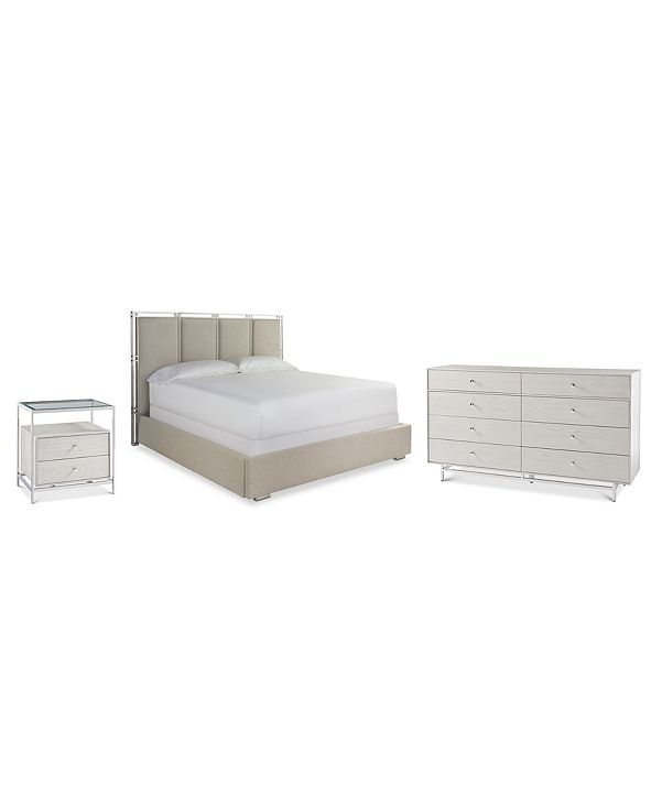 Furniture Paradox Bedroom Furniture 3-Pc. Set (Queen Bed, Nightstand & Dresser)