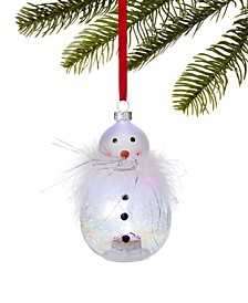 Santa's Favorites LED Snowman Ornament, Created for Macy's
