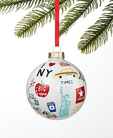 New York Macy's NYC Ball Ornament, Created for Macy's