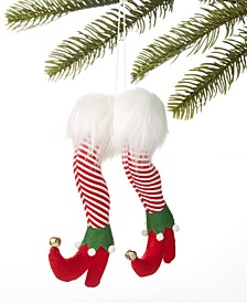 Make Merry Elf Legs Ornament, Created for Macy's