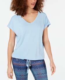 Ideology Drawstring-Hem Top, Created for Macy's