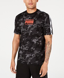 Puma Men's Camouflage Logo T-Shirt