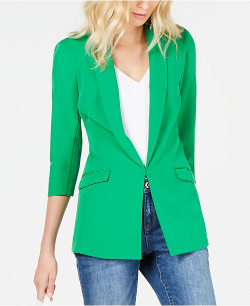 INC International Concepts I.N.C. 3/4-Sleeve Blazer, Created for Macy's