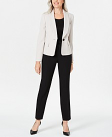 Shawl-Collar Pantsuit