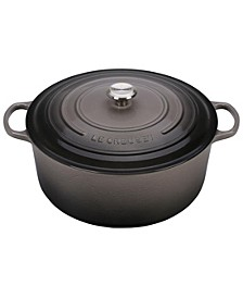 Signature Enameled Cast Iron 13.25 Qt. Round French Oven