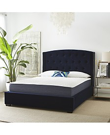 "SensorGel 12"" Plush Mattress, Quick Ship, Mattress In A Box- Queen"