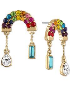 RACHEL Rachel Roy Gold-Tone Rainbow Drop Earrings