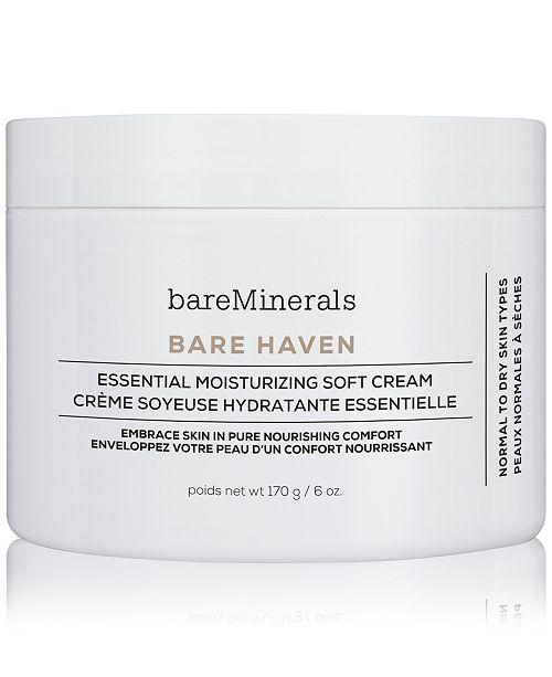 bareMinerals Pro Size Bare Haven Essential Moisturizing Soft Cream