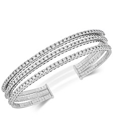 Diamond Triple-Band Bangle Bracelet (2-3/8 ct. t.w.) in 14k White Gold