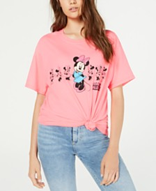 Disney Juniors' Minnie Mouse Graphic T-Shirt by Jerry Leigh