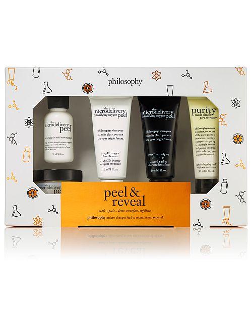 philosophy 5-Pc. Peel & Reveal Mask/Peel Trial Set