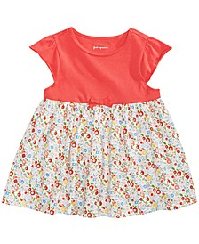 Toddler Girls Floral-Print Cotton Tunic, Created for Macy's