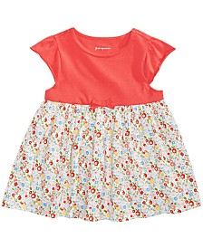 First Impressions Toddler Girls Floral-Print Cotton Tunic, Created for Macy's