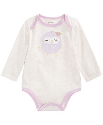 Baby Girl Owl Bodysuit, Created for Macy's