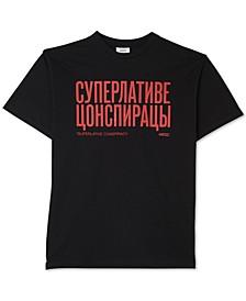 Men's Retro Fit Mason Cyrillic Graphic T-Shirt