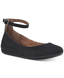Eeva Ankle-Strap Flats, Created for Macy's