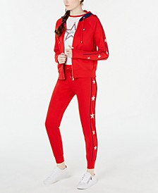 Star-Trim Zip Jacket