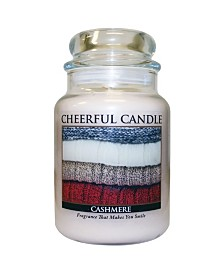 Cashmere 24 Ounce Cheerful Candle