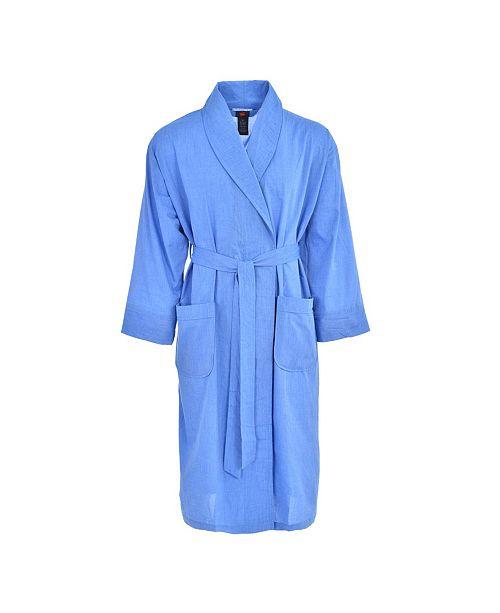 Hanes Platinum Hanes Men's Big and Tall Woven Shawl Robe