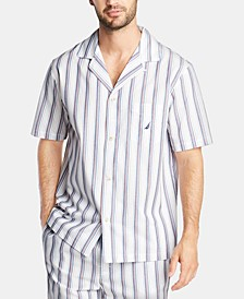 Men's Cotton Striped Pajama Shirt