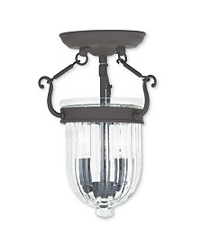 CLOSEOUT! Livex   Coventry 2-Light Ceiling Mount