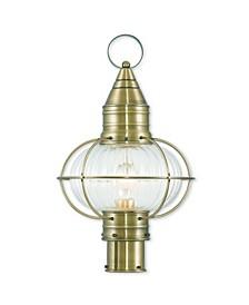 "CLOSEOUT!   Newburyport 1-Light 19.75"" Post Lantern"