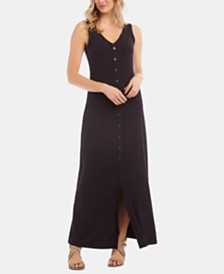 Karen Kane Button-Up Maxi Dress