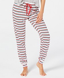 Printed Sleep Jogger Pants, Created for Macy's