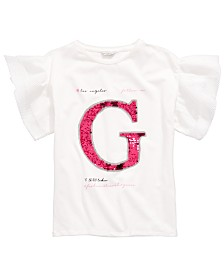 GUESS Big Girls Sequin Logo T-Shirt
