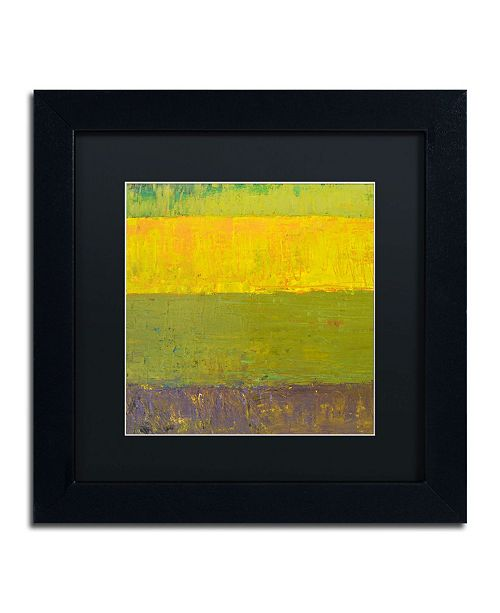 "Trademark Global Michelle Calkins 'Highway Series Sunrise' Matted Framed Art - 11"" x 11"""