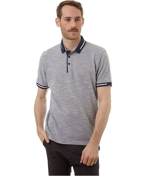 PX Polo with Knit Collar