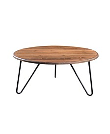 Bryant Round Coffee Table, Quick Ship