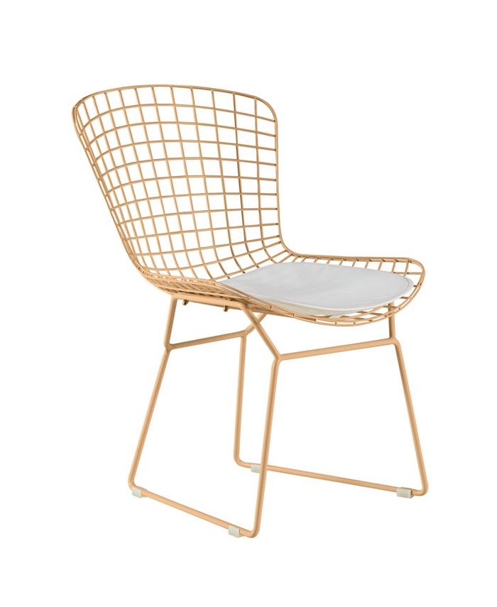 Elle Decor - Holly Wire Chair, Quick Ship (Set of 2)